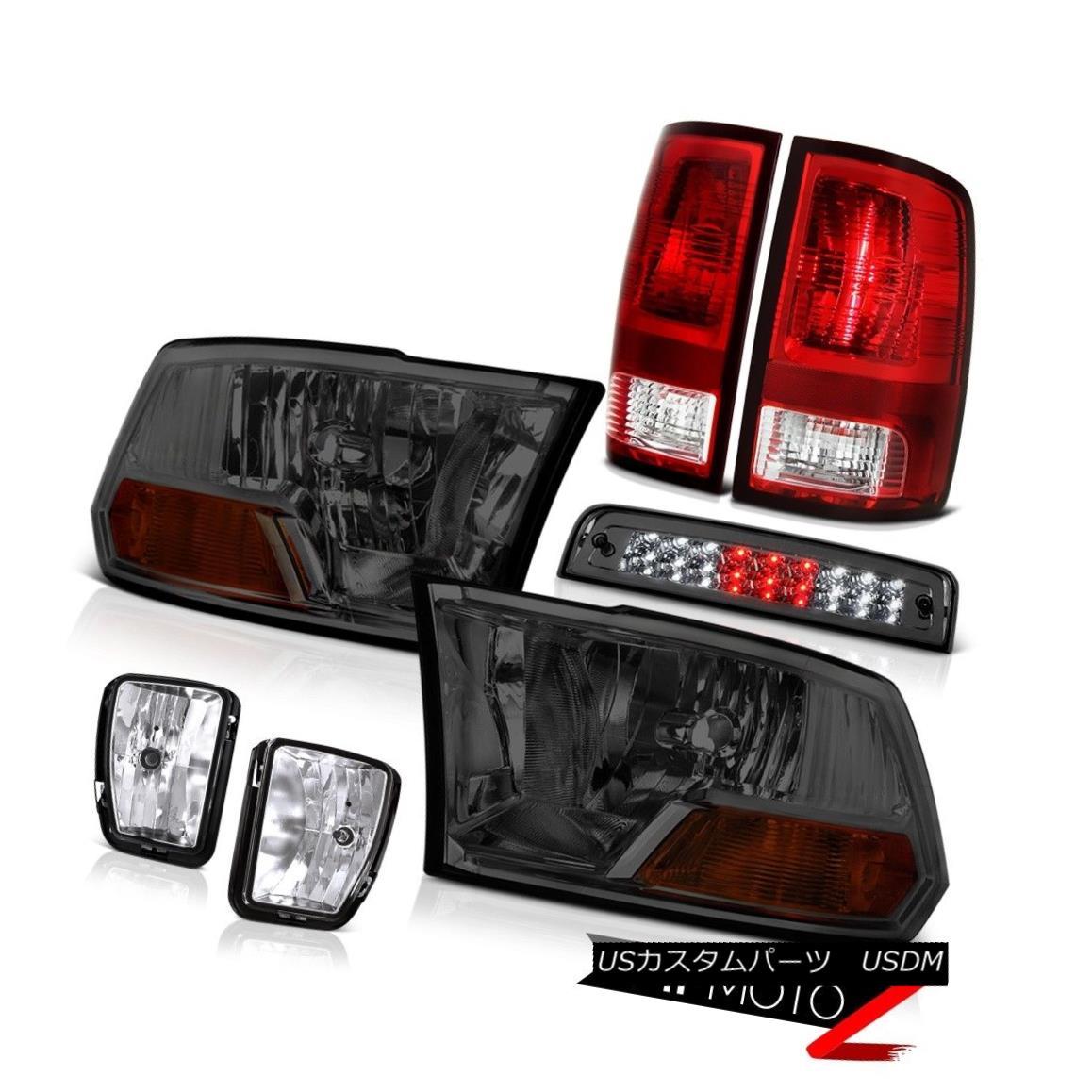 ヘッドライト 2013-2018 Dodge Ram 1500 5.7L Third Brake Lamp Fog Lamps Taillights Headlights 2013-2018 Dodge Ram 1500 5.7L第3ブレーキランプフォグランプテールライトヘッドライト