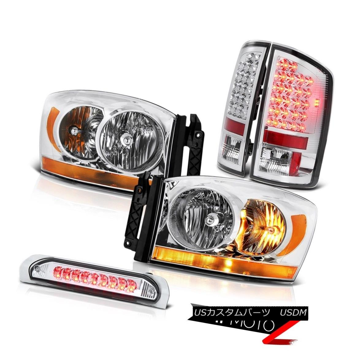 ヘッドライト 2006 Ram 5.7L Clear Chrome Headlamps Roof Cargo Lamp Taillamps