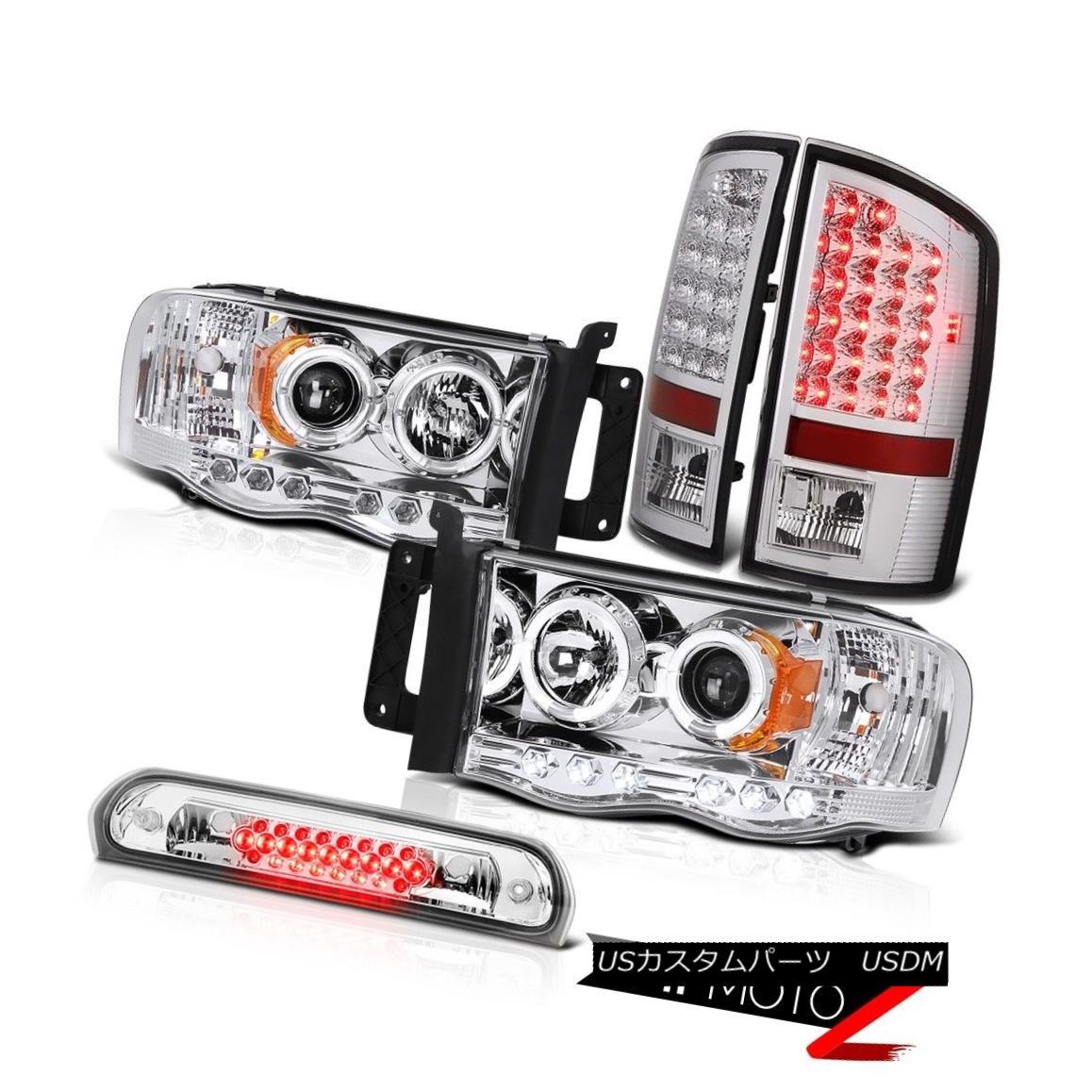 ヘッドライト Angel Eye Headlights LED Brake Tail Lights Roof Cargo 02 03 04 05 Ram PowerTech エンジェルアイヘッドライトLEDブレーキテールライトルーフカーゴ02 03 04 05 Ram PowerTech