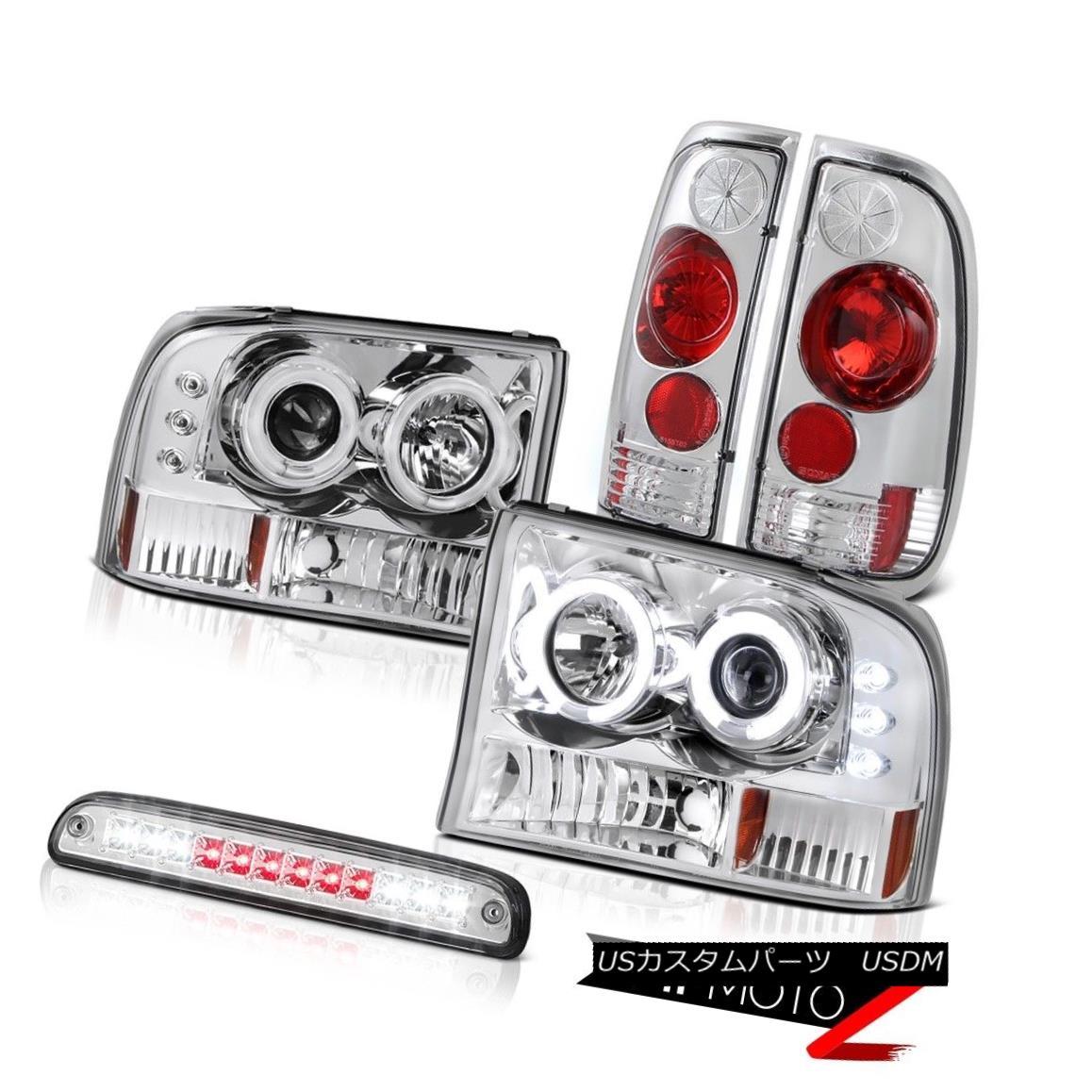 ヘッドライト Headlights Third Brake Cargo LED Rear Lights 99 00 01 02 03 04 F350 Turbo Diesel ヘッドライト第3ブレーキカーゴLEDリアライト99 00 01 02 03 04 F350ターボディーゼル