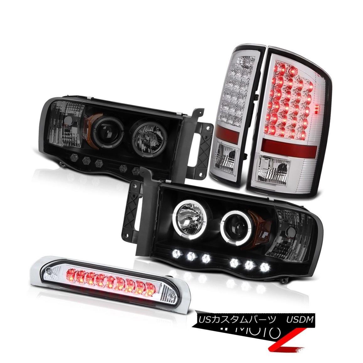 ヘッドライト 2002-2005 Ram V6 V8 WS L.E.D Projector DRL Headlight Bright LED Tail Lights 3rd 2002-2005 Ram V6 V8 WS L.E.DプロジェクターDRLヘッドライトブライトLEDテールライト3