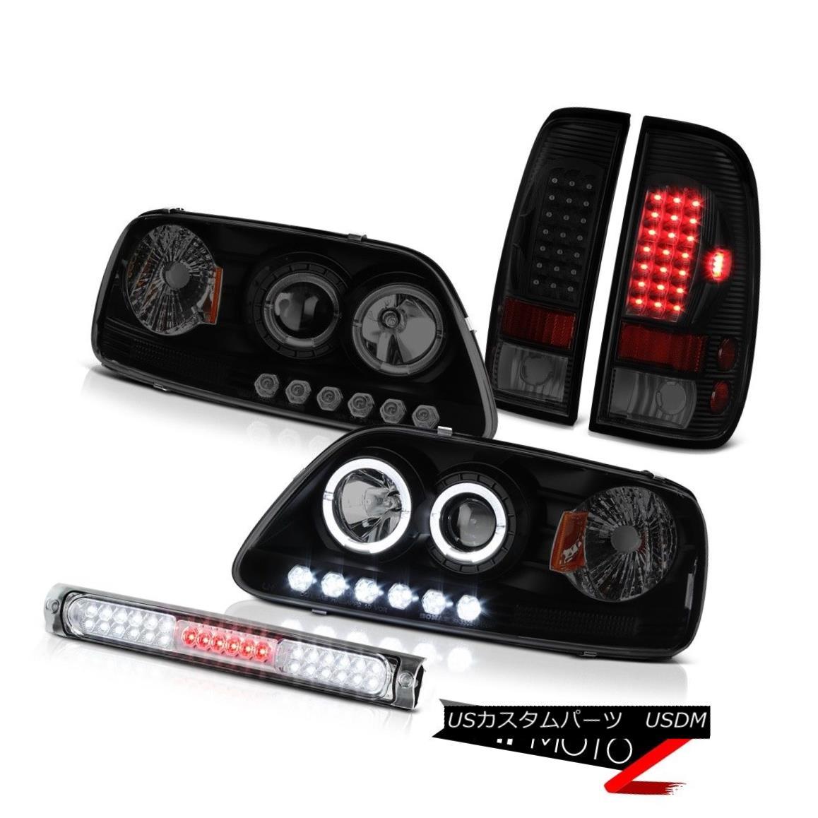 ヘッドライト 97-03 F150 Harley Davidson 3RD Brake Lamp Parking Lights Projector Headlights 97-03 F150ハーレーダビッドソン3RDブレーキランプパーキングライトプロジェクターヘッドライト