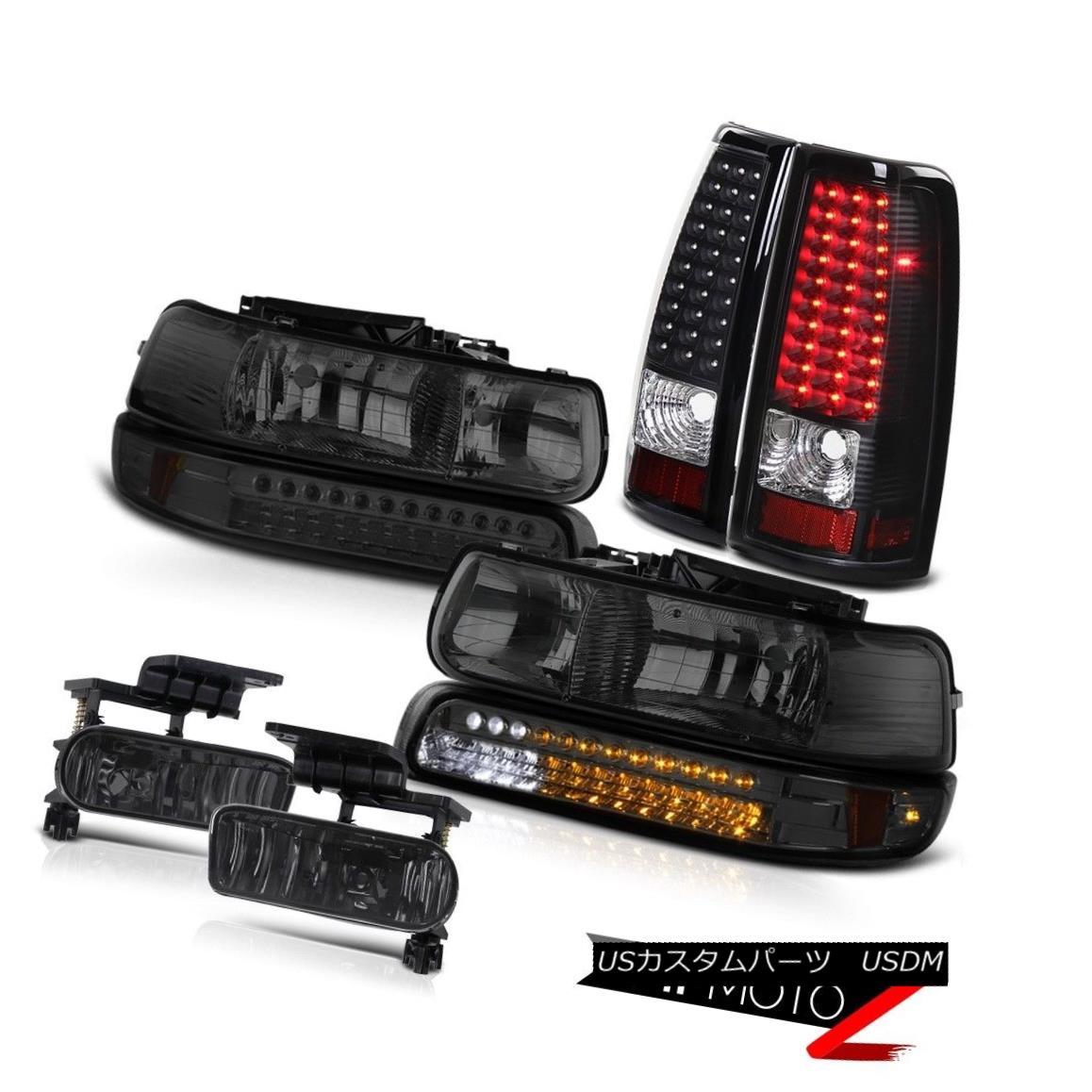 ヘッドライト Headlights LED Parking Bright Tail Lights Foglights 1999-2002 Silveardo Z71 ヘッドライトLEDパーキングブライトテールライトフォグライト1999-2002 Silverado Z71