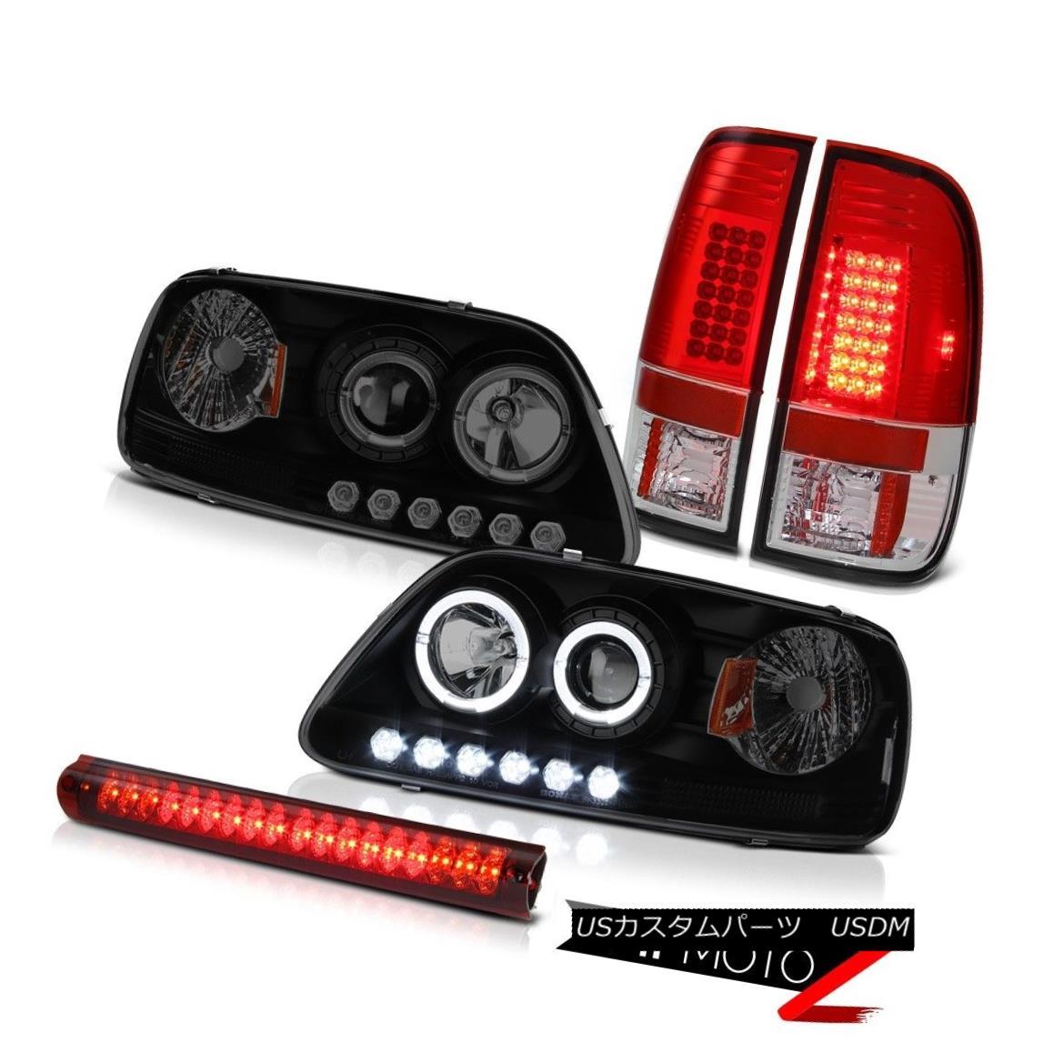 ヘッドライト LED Projector DRL Headlight 97-03 F150 Supercharged S.M.D Tail Lights Brake Lamp LEDプロジェクターDRLヘッドライト97-03 F150スーパーチャージS.M.Dテールライトブレーキランプ