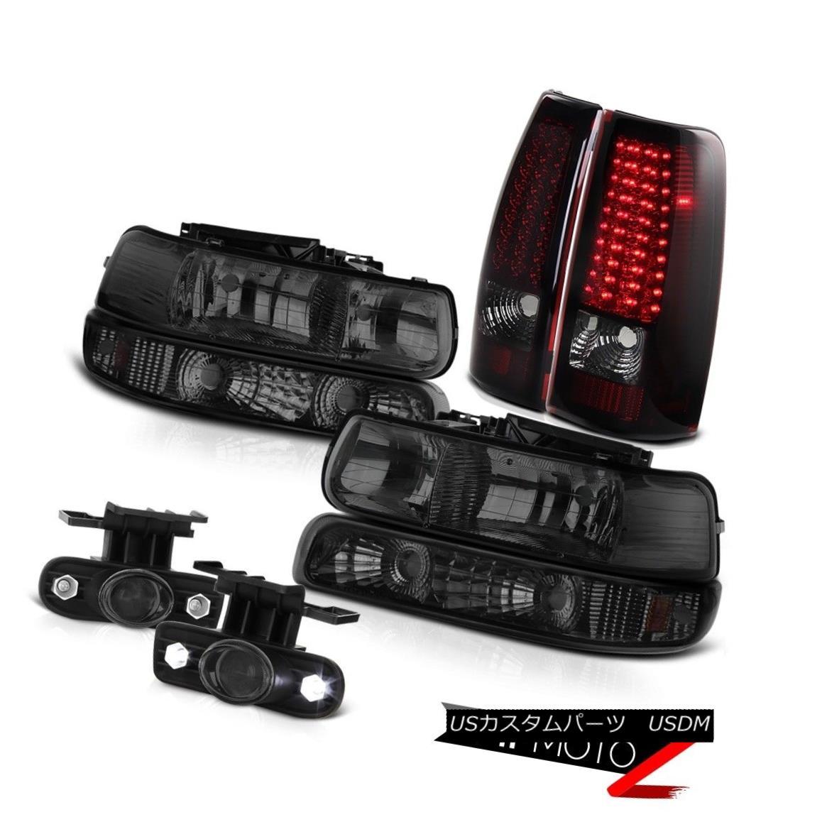 ヘッドライト 1999-2002 Chevrolet Silverado 2500 Headlamps LED Tail Light Projector Foglight 1999-2002シボレーシルバラード2500ヘッドランプLEDテールライトプロジェクターフォグライト