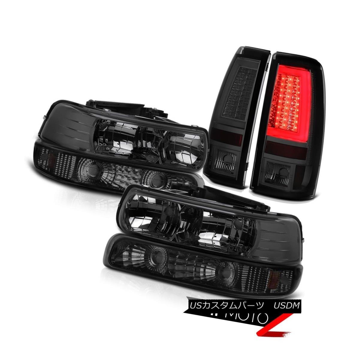 ヘッドライト 99-02 Silverado LTZ Taillamps Signal Light Headlights Crystal Lens