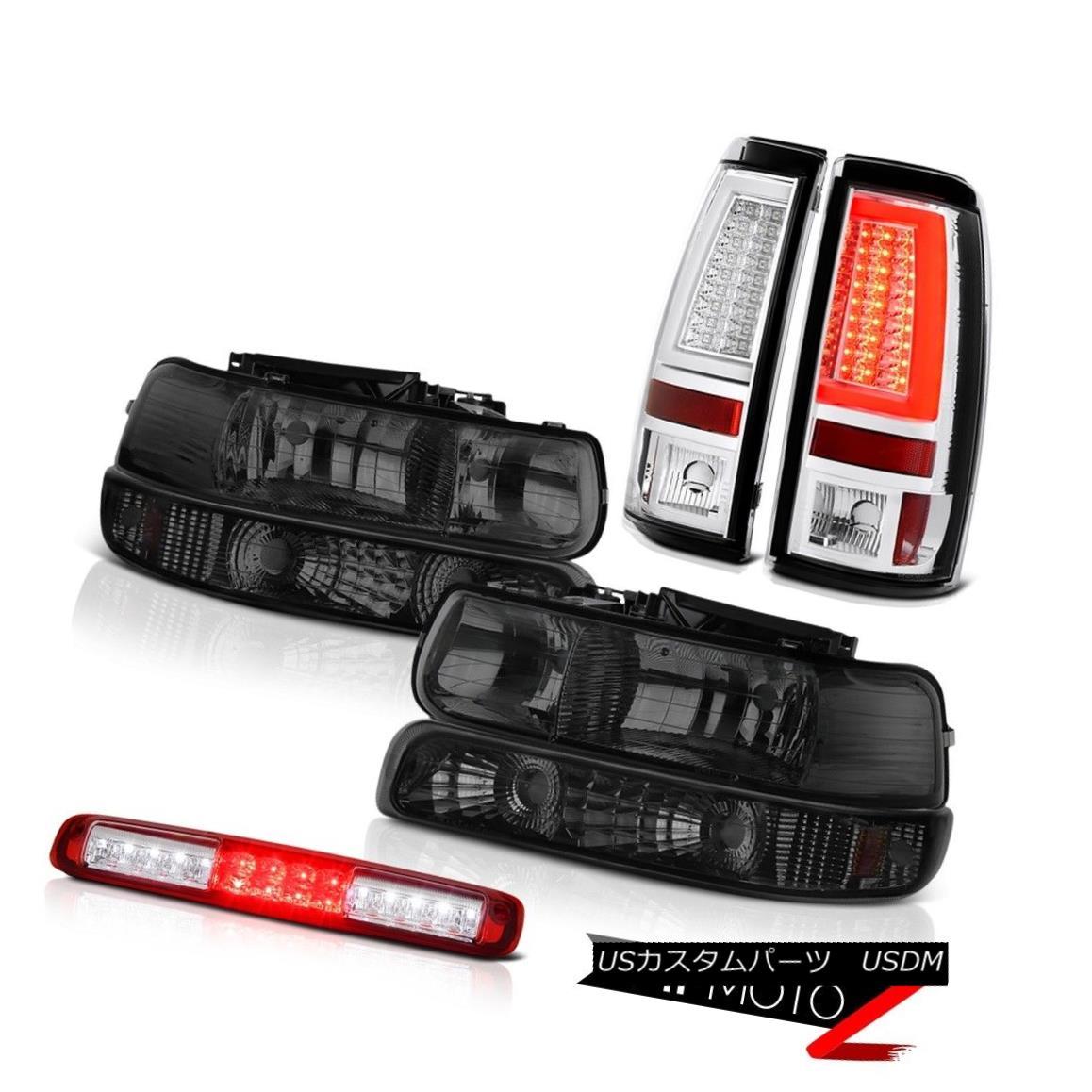 ヘッドライト 99-02 Silverado 5.3L Taillights Red 3rd Brake Light Headlamps Frosty Neon Tube 99-02 Silverado 5.3Lテールライトレッド第3ブレーキライトヘッドランプフロスティネオンチューブ