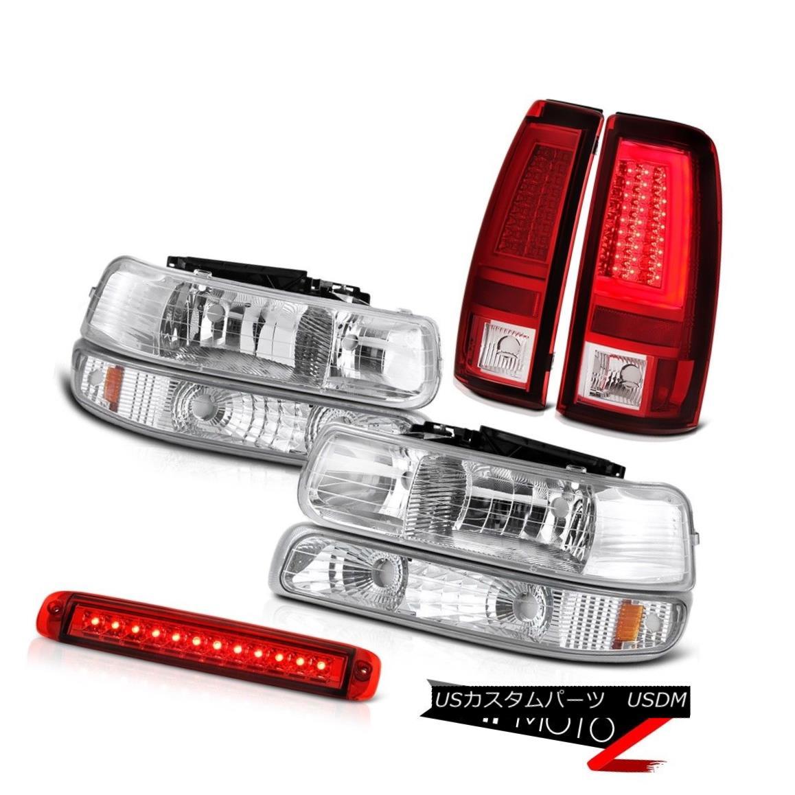 ヘッドライト 99-02 Silverado Z71 Tail Lamps High Stop Lamp Headlamps Signal LED
