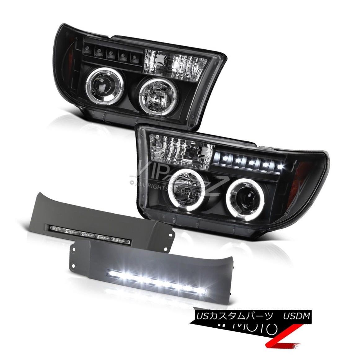ヘッドライト 2007 2008 2009 2010 2011 2012 2013 Tundra LED Trim Fog Halo Projector Headlights 2007 2008 2009 2010 2011 2012 2013 Tundra LEDトリムフォグハロープロジェクターヘッドライト