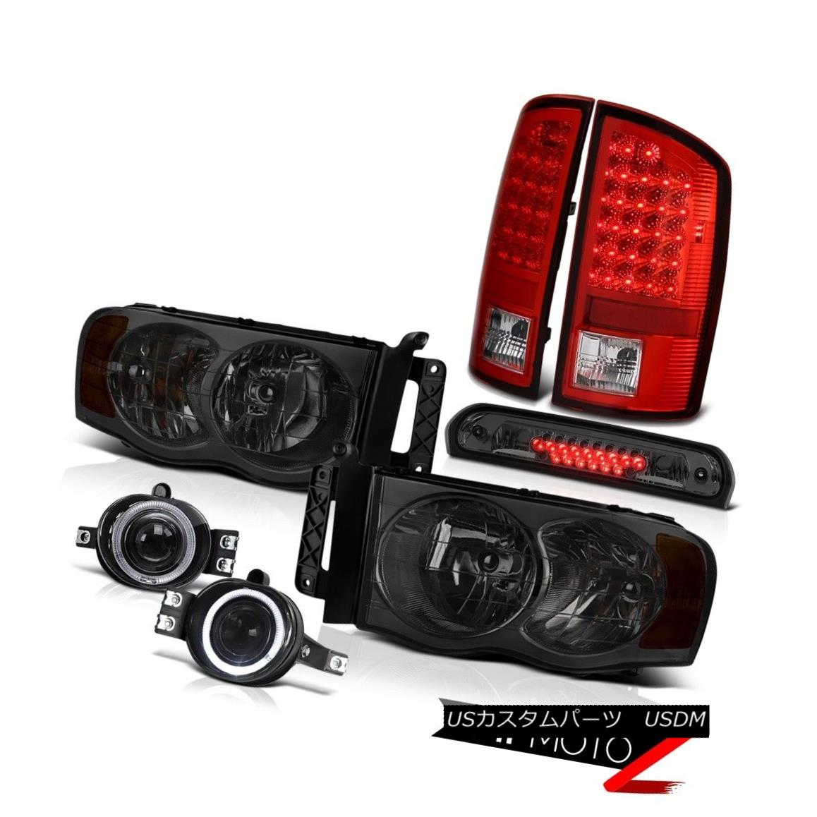 ヘッドライト 02 03 04 05 Ram ST Tinted Headlights L+R LH+RH LED Tail Lights Projector Fog 3rd 02 03 04 05 Ram ST着色ヘッドライトL + R LH + RH LEDテールライトプロジェクターフォグ3rd