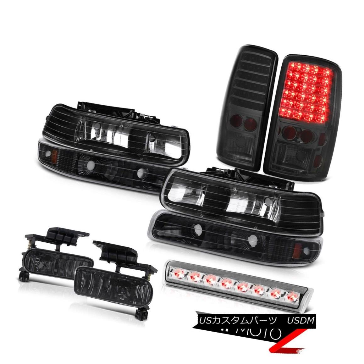 ヘッドライト 2000-2006 Chevy Tahoe LT Chrome 3rd brake light foglamps taillights bumper lamp 2000-2006 Chevy Tahoe LT Chrome第3ブレーキライトフォグランプテールライトバンパーランプ