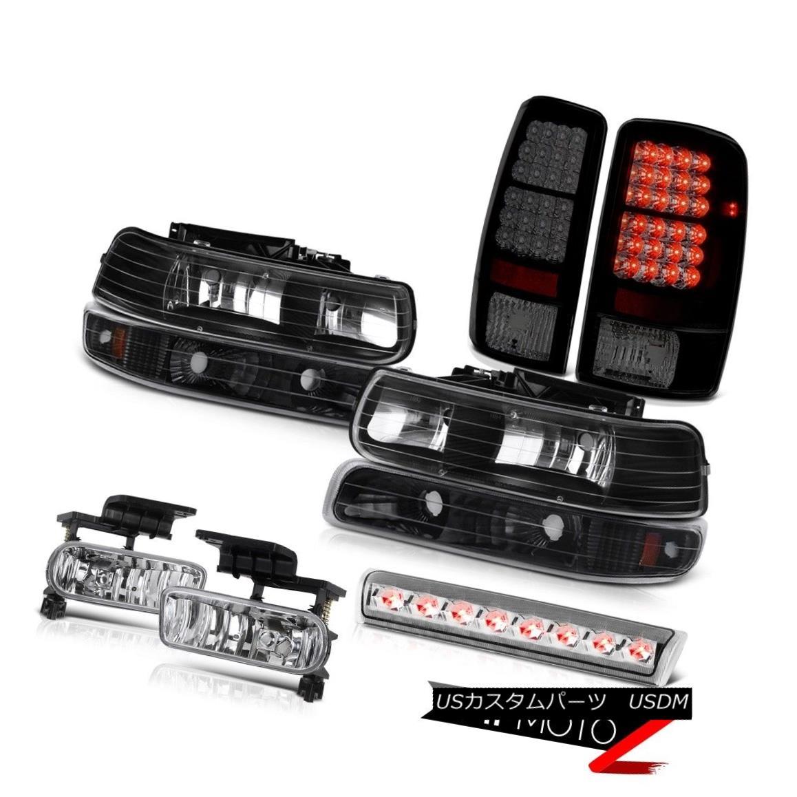 ヘッドライト 00-06 Chevy Suburban 4X4 Fog lamps parking lamp tail foglights roof cab Light 00-06シボレー郊外4X4フォグランプパーキングランプテールフォグライトルーフキャブライト