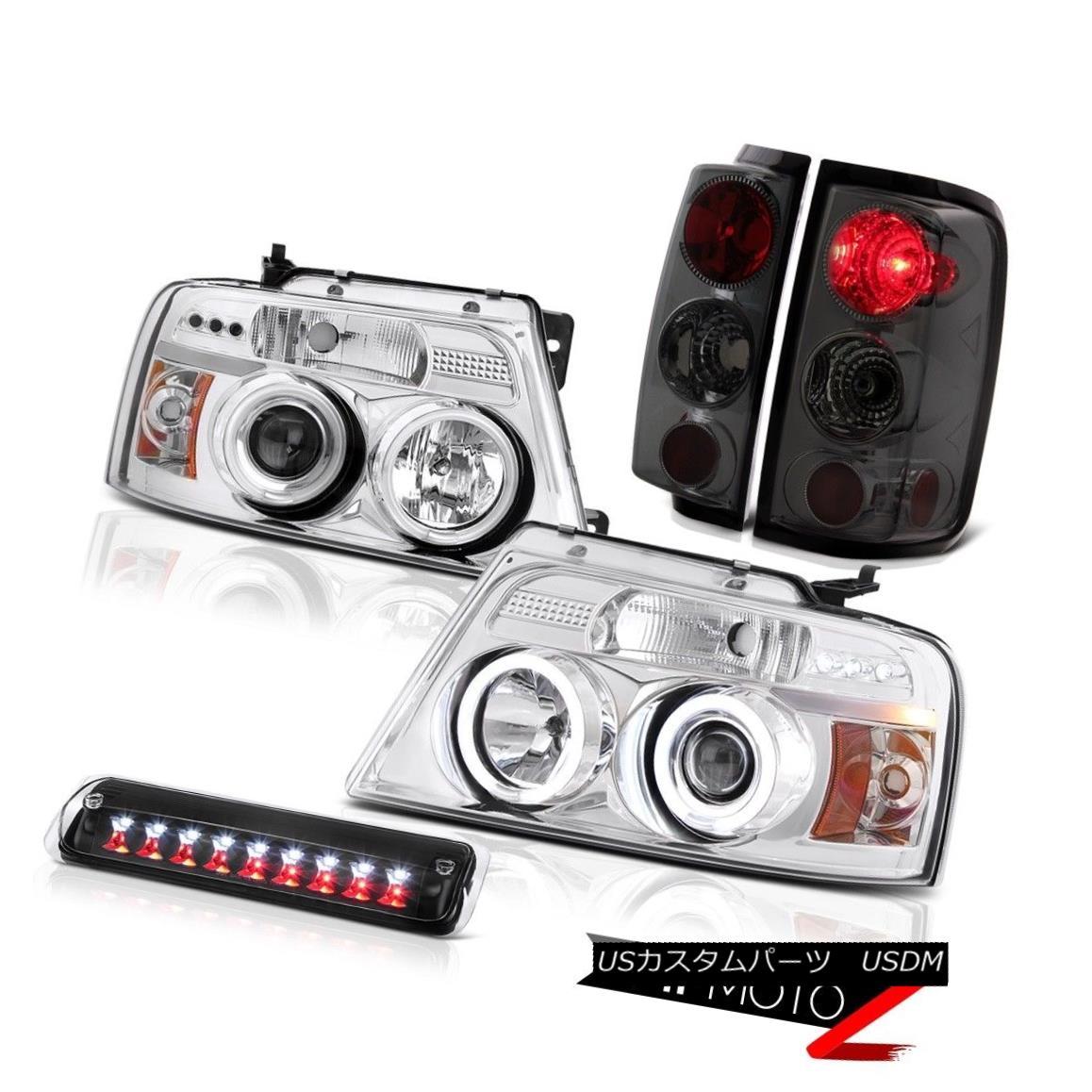 ヘッドライト 2004-2008 Ford F150 FX4 Roof Brake Lamp Headlights Tail Lamps LED Altezza Cool 2004-2008フォードF150 FX4ルーフブレーキランプヘッドライトテールランプLED Altezza Cool