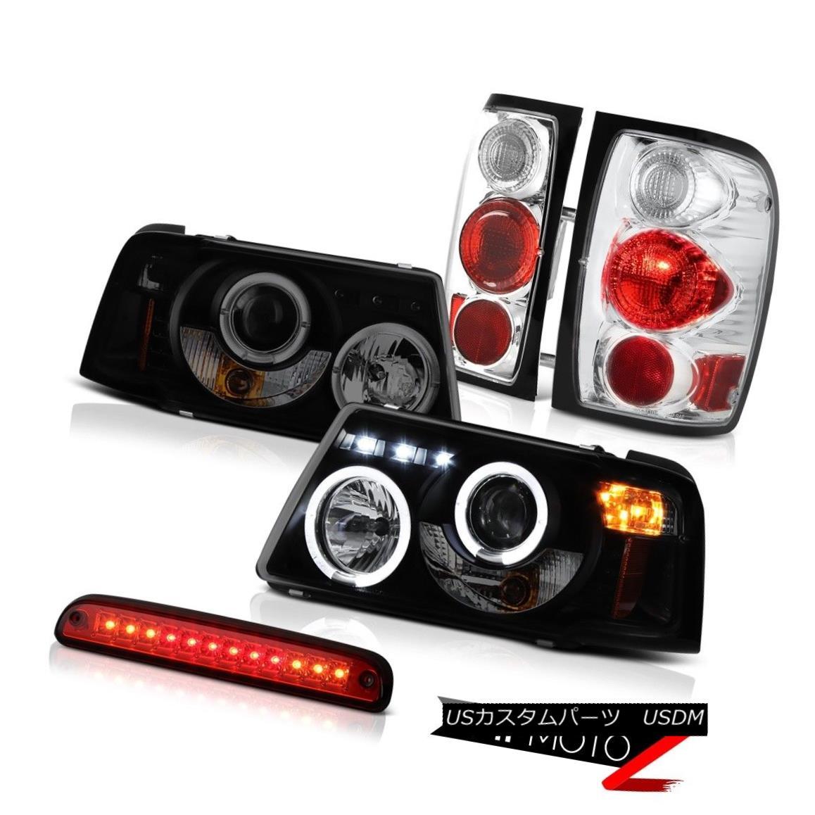 ヘッドライト Headlights Halo LED Brake Lamps Tail Lights High Cargo 2001-2011 Ford Ranger XL ヘッドライトHalo LEDブレーキランプテールライトハイカーゴ2001-2011 Ford Ranger XL