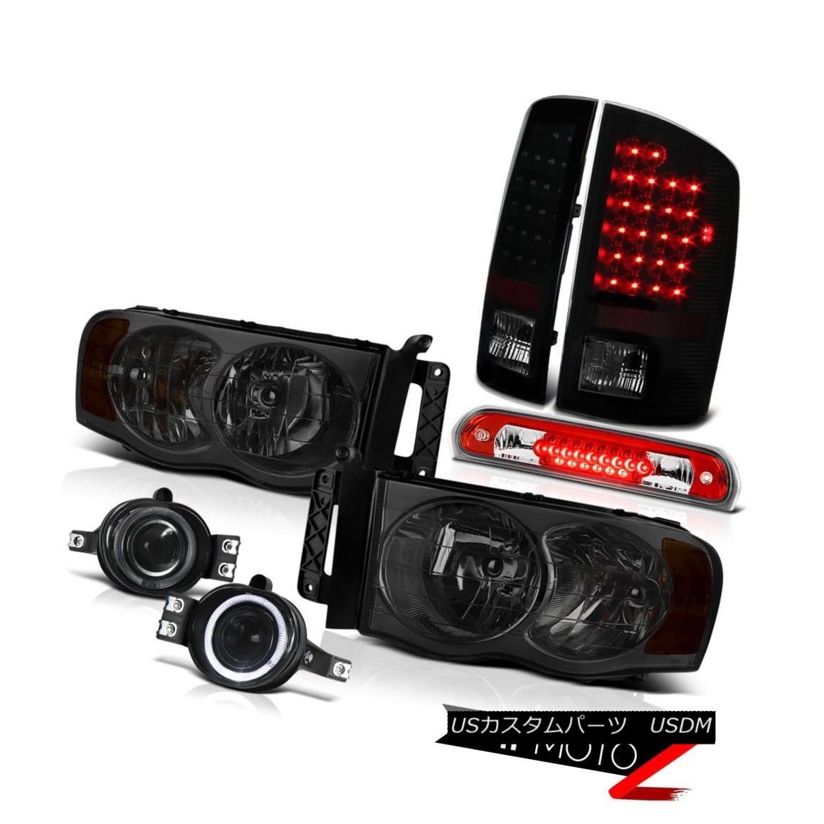 ヘッドライト 02 03 04 05 Ram Headlight L+R Signal LED Taillight Halo Projector Fog Roof Brake 02 03 04 05ラムヘッドライトL + R信号LEDテールライトハロープロジェクターフォグルーフブレーキ