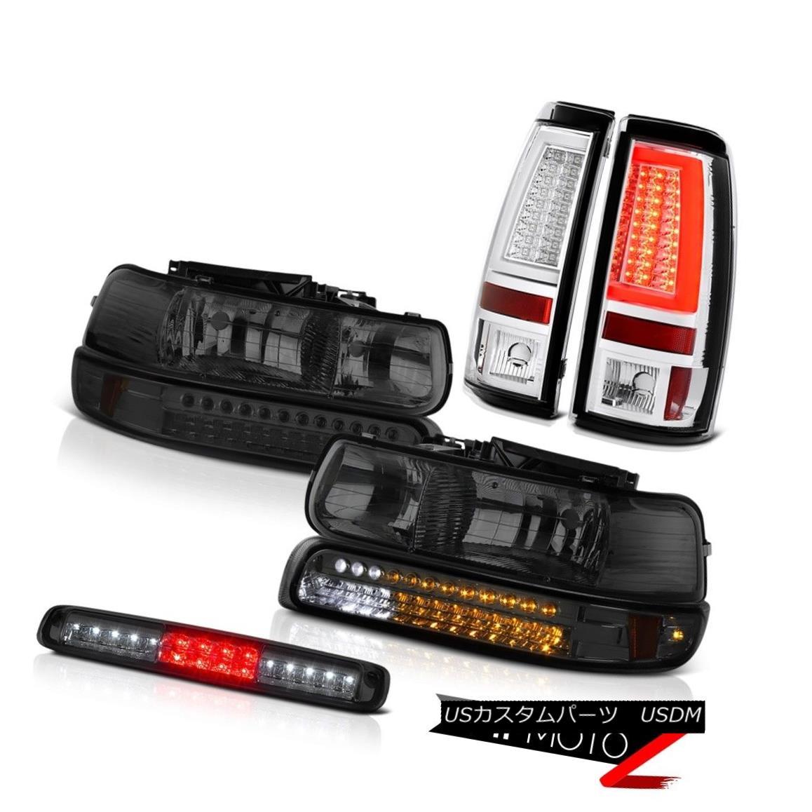 ヘッドライト 1999-2002 Silverado LT Tail Lamps Third Brake Lamp Headlights LED Replacement 1999-2002 Silverado LTテールランプ第3ブレーキランプヘッドライトLED交換