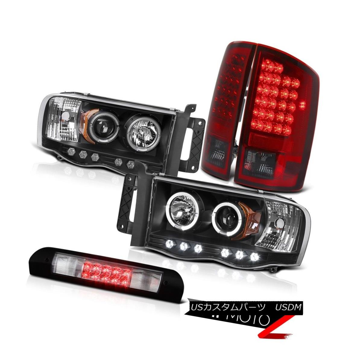ヘッドライト LED Daytime Projector Headlights Bulbs Taillights High Stop 02-05 Ram PowerTech LED昼間プロジェクターヘッドライトバルブ灯台ハイストップ02-05 Ram PowerTech