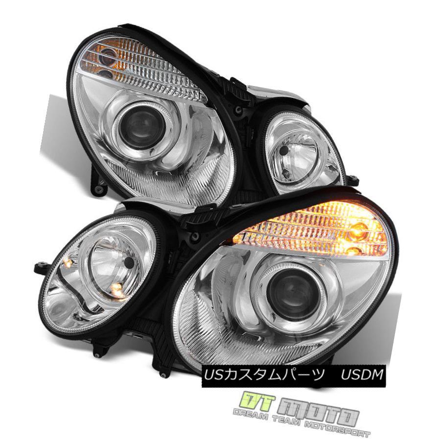 ヘッドライト Xenon HID 2003-2009 Mercedes E-Class W211 E-Class Projector Headlights 03-09 キセノン HID 2003-2009メルセデスEクラスW211 Eクラスプロジェクターヘ