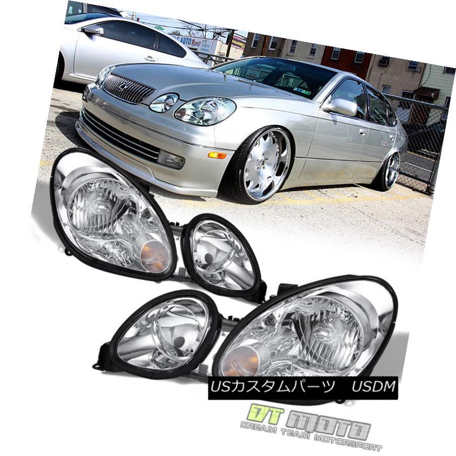 ヘッドライト 1998-2005 Lexus GS300 GS430 GS400 Replacement Headlights Headlamps Left+Right 1998-2005レクサスGS300 GS430 GS400交換用ヘッドライトヘッドランプ左+右