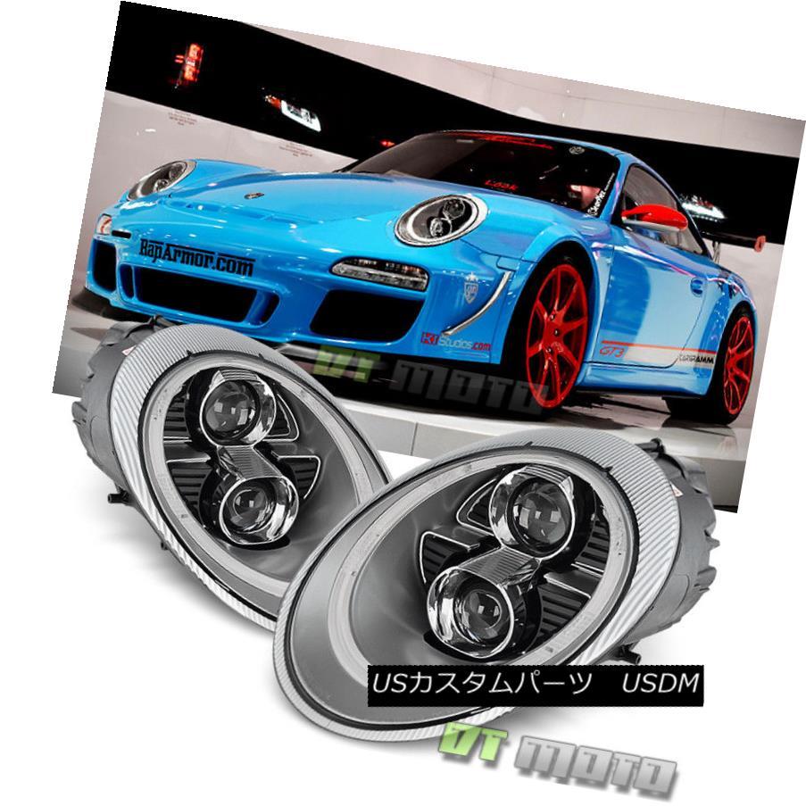 【★大感謝セール】 ヘッドライト DRL For 2005-2009 Porsche 911/997.1/ Xenon/HID 997.1キセノン/ LED DRL Projector Headlights Headlamps 2005 - 2009年ポルシェ911/ 997.1キセノン/ HID LED DRLプロジェクターヘッドライトヘッドランプ, ギフシ:1deb265d --- unifiedlegend.com