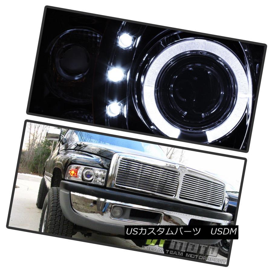 ヘッドライト 1994-2001 Dodge Ram 1500 1500 2500 LED Halo Projector Headlights w/Corner Signal 1994-2001 Dodge Ram 1500 1500 2500ハロープロジェクターヘッドライト/コーナー信号