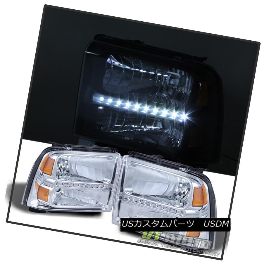 ヘッドライト 2005-2007 Ford F250 F350 F450 F550 Superduty Led Headlights Headlamps Pair 2006 2005-2007 Ford F250 F350 F450 F550 Superdutyヘッドライトヘッドランプペア2006