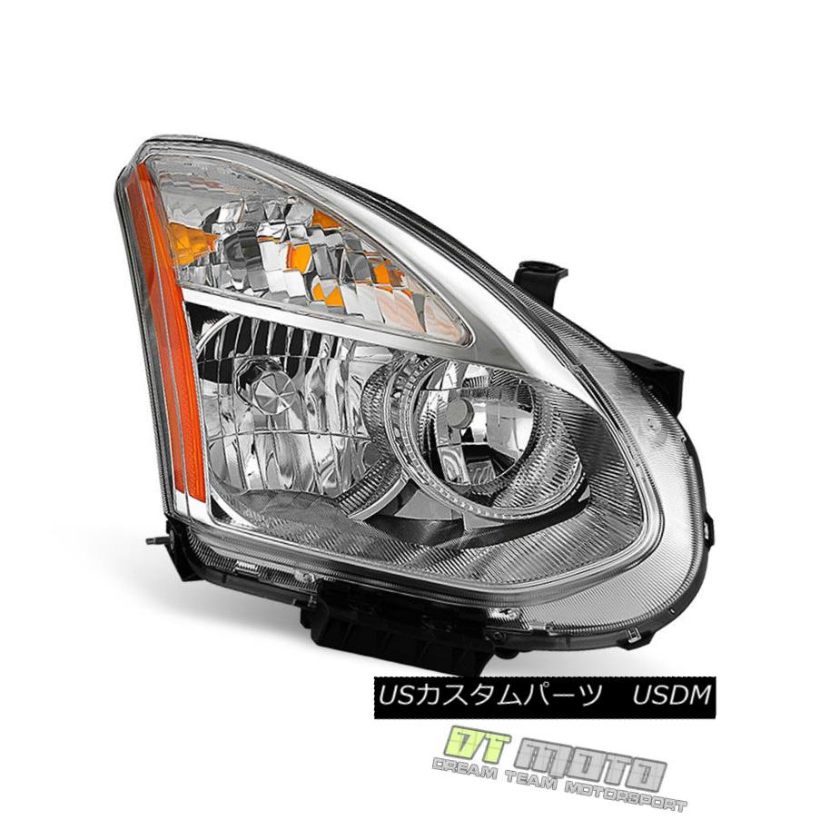 ヘッドライト Fits 2008-2013 Rogue 14-15 Select Replacement HID Headlight Right Passenger Side フィット2008-2013不正14-15交換HIDヘッドライト右の乗客側の選択