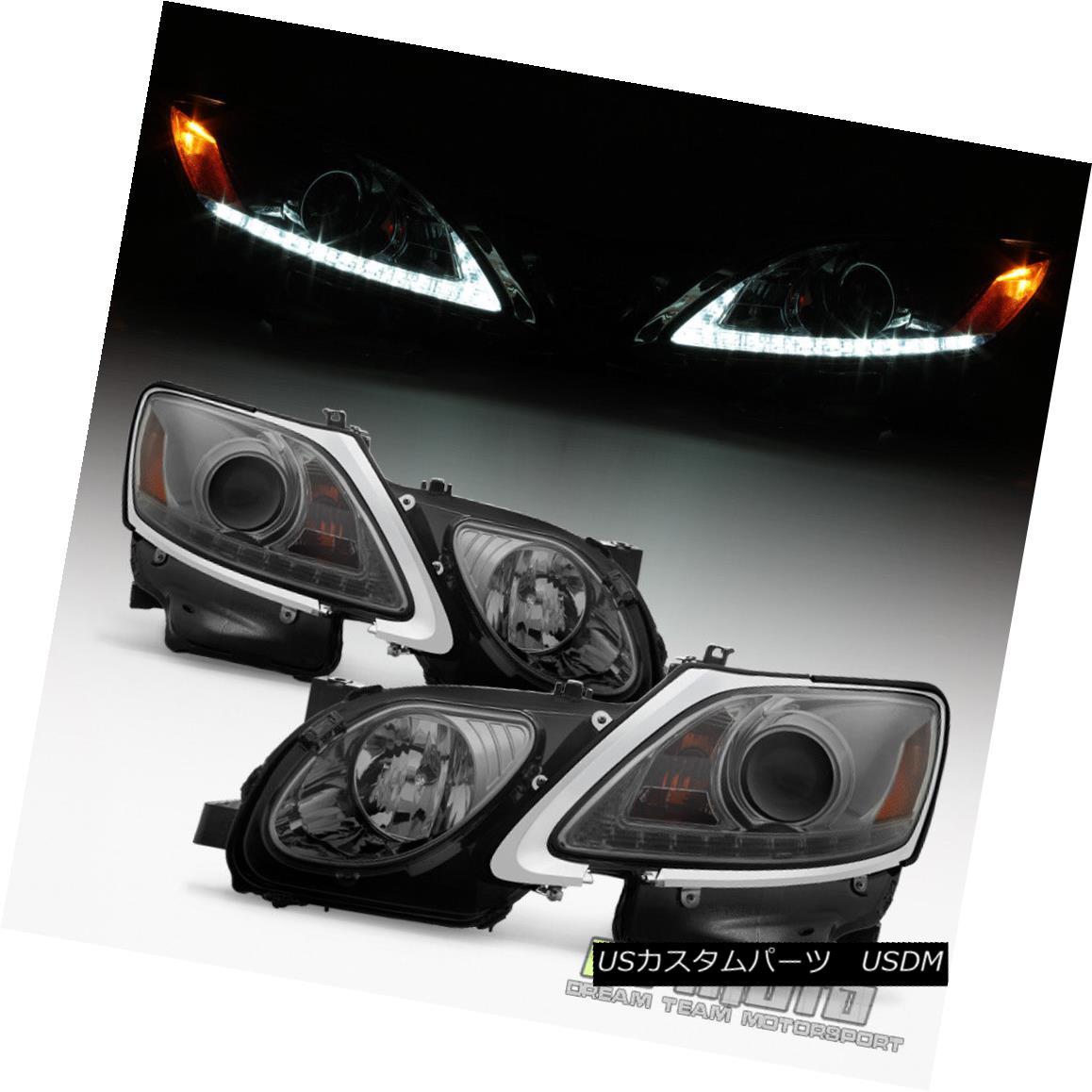 ヘッドライト 2006-2011 Lexus GS300 GS350 GS430 HID Xenon Bright LED DRL Projector Headlights 2006-2011 Lexus GS300 GS350 GS430 HIDキセノンブライトLED DRLプロジェクターヘッドライト