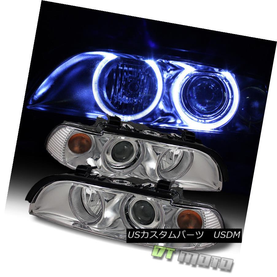ヘッドライト 1997-2003 BMW E39 525i 528i 530i 540i LED CCFL Projector Headlights Left+Right 1997-2003 BMW E39 525i 528i 530i 540i LED CCFLプロジェクターヘッドライト左+右