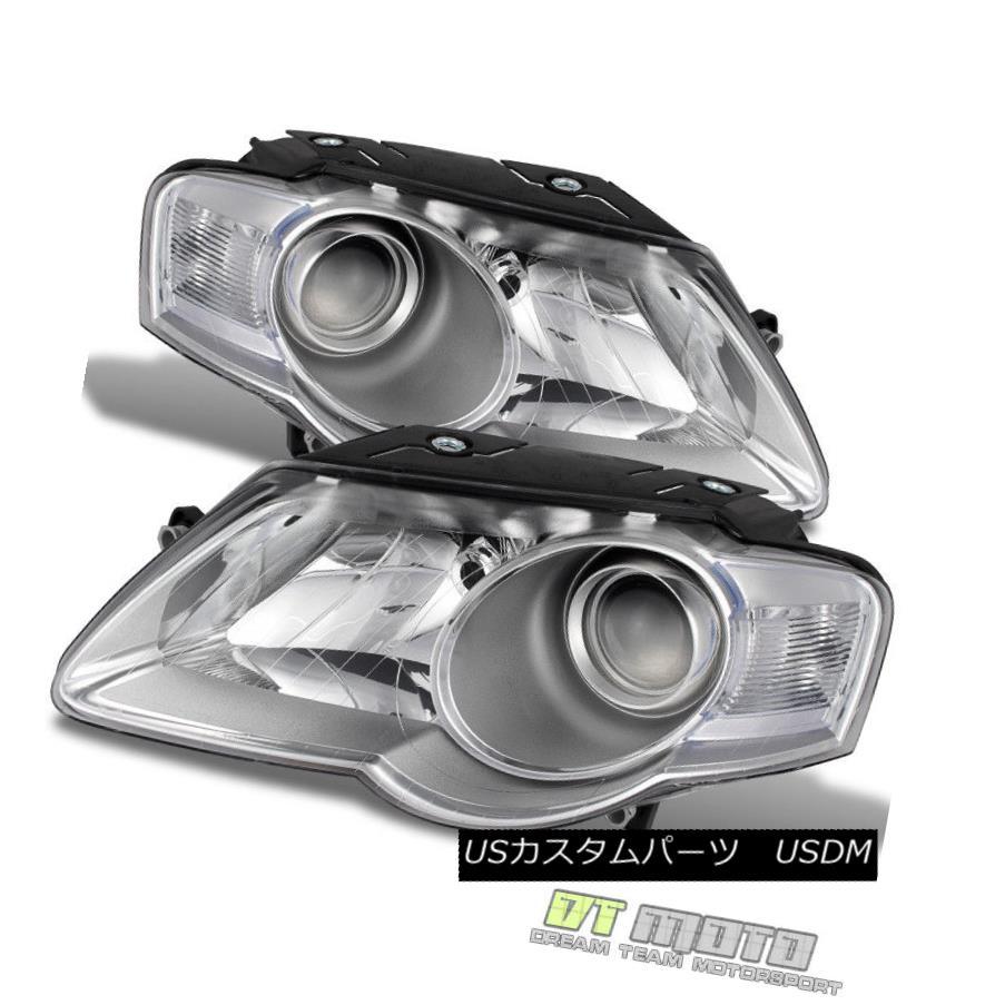 ヘッドライト 2006 2007 2008 2009 2010 Volkswagen VW Passat Headlights Headlamps Left+Right 2006 2007 2008 2009 2010フォルクスワーゲンVWパサートヘッドライトヘッドランプ左+右