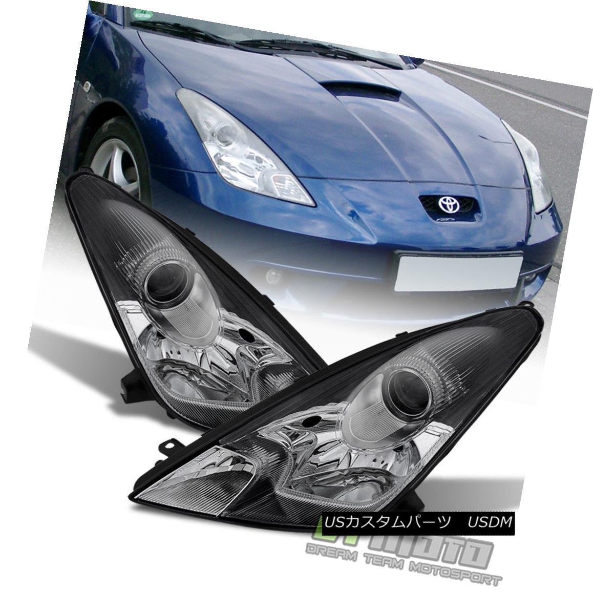 ヘッドライト [Factory Style] 2000-2005 Toyota Celica Projector Headlights Replacement Lights [工場スタイル] 2000-2005トヨタセリカプロジェクターヘッドライト交換ライト