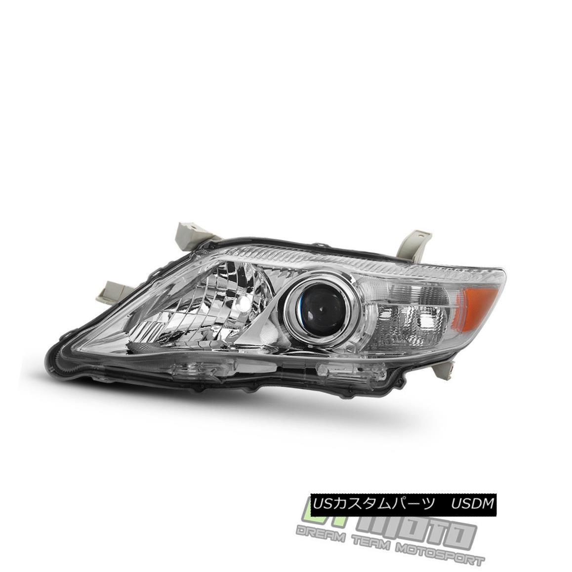 ヘッドライト US Built Model 2010-2011 Toyota Camry LE/XLE Headlight Headlamp Left Driver Side 米国製モデル2010-2011トヨタカムリLE / XLEヘッドライトヘッドランプ左側ドライバーサイド