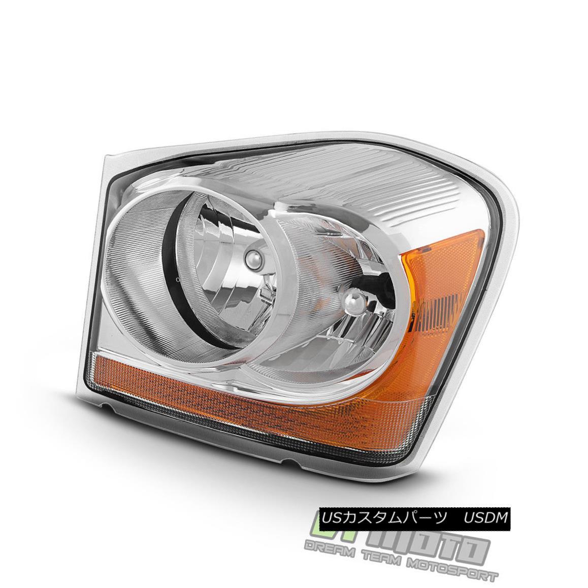 ヘッドライト 2004-2005 Dodge Durango Headlight Replacement Headlamp Left Driver Side Light LH 2004-2005 Dodge Durangoヘッドライト交換ヘッドランプ左側ドライバーサイドライトLH