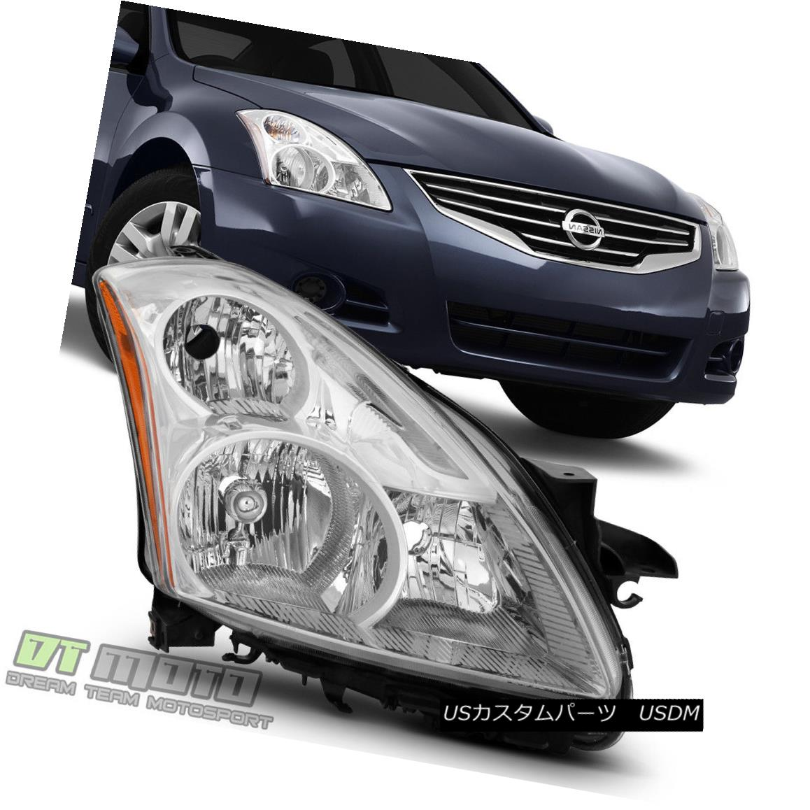 ヘッドライト For 2010-2012 Altima 4-Door Sedan Halogen Headlight Headlamp RH Passenger Side 2010?2012年アルティマ4ドアセダンハロゲンヘッドライトヘッドランプRH助手席側