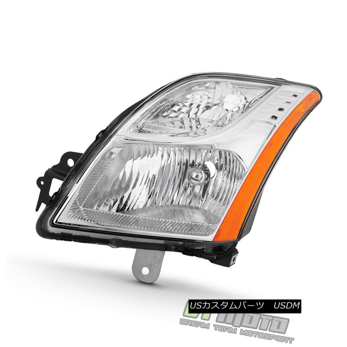 ヘッドライト For 2010-2012 Sentra Base/S/SL 2.0L Headlight Headlamp 10-12 Left Driver Side 2010-2012 Sentra Base / S / SL用2.0Lヘッドライトヘッドランプ10-12左ドライバ側