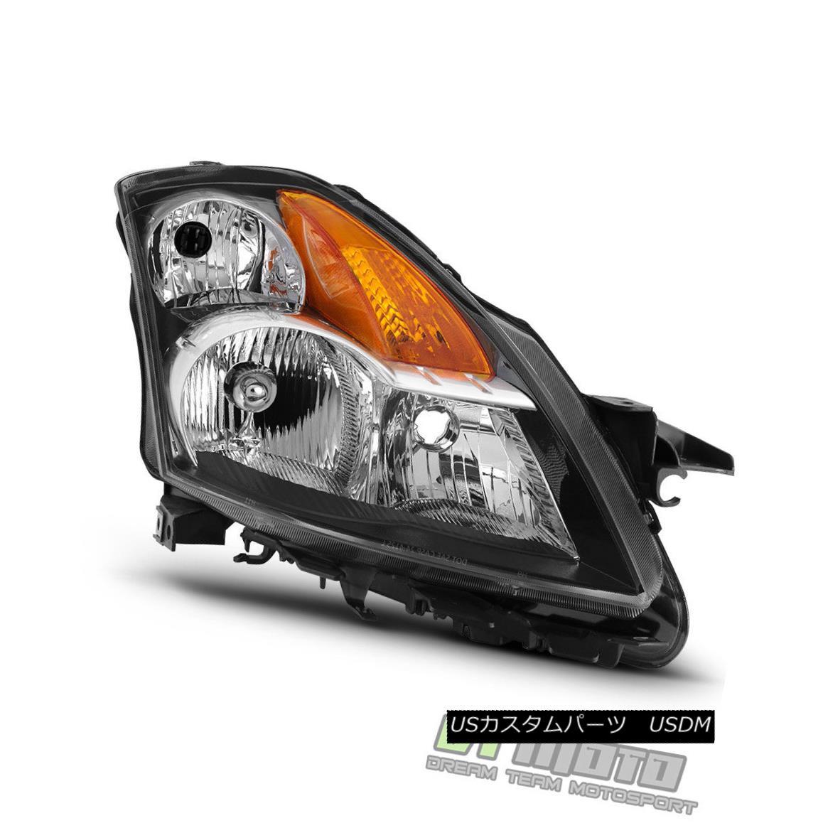ヘッドライト Replacement RH Passenger Side Headlamp For 2007 2008 2009 Altima Sedan Headlight 2007年の2009年のAltimaセダンヘッドライト用のRH助手席側ヘッドランプの交換