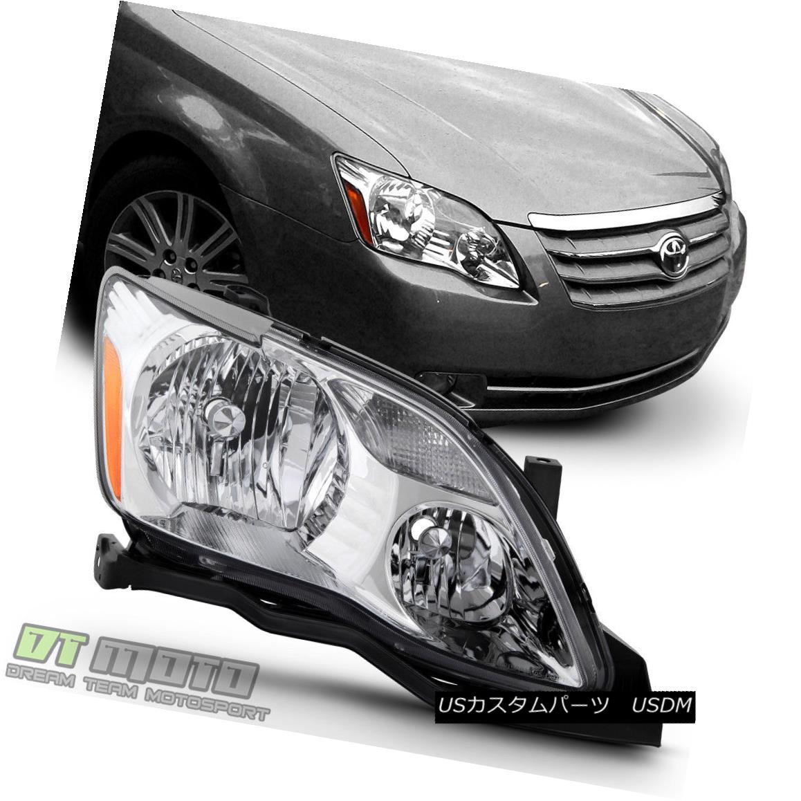 ヘッドライト Halogen Model 2005 2006 2007 Toyota Avalon Headlight Headlamp RH Passenger Side ハロゲンモデル2005 2006 2007トヨタアバロンヘッドライトヘッドランプRH助手席側
