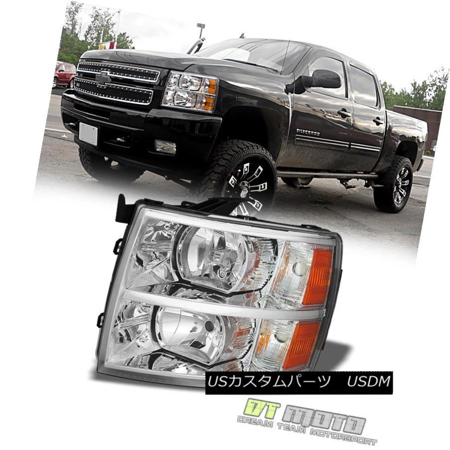 ヘッドライト 2007-2013 Chevy Silverado 1500 Orginal Replacement Headlights Driver Side Left 2007年?2013年シボレーシルバラード1500オリジナル交換ヘッドライトドライバーサイド左