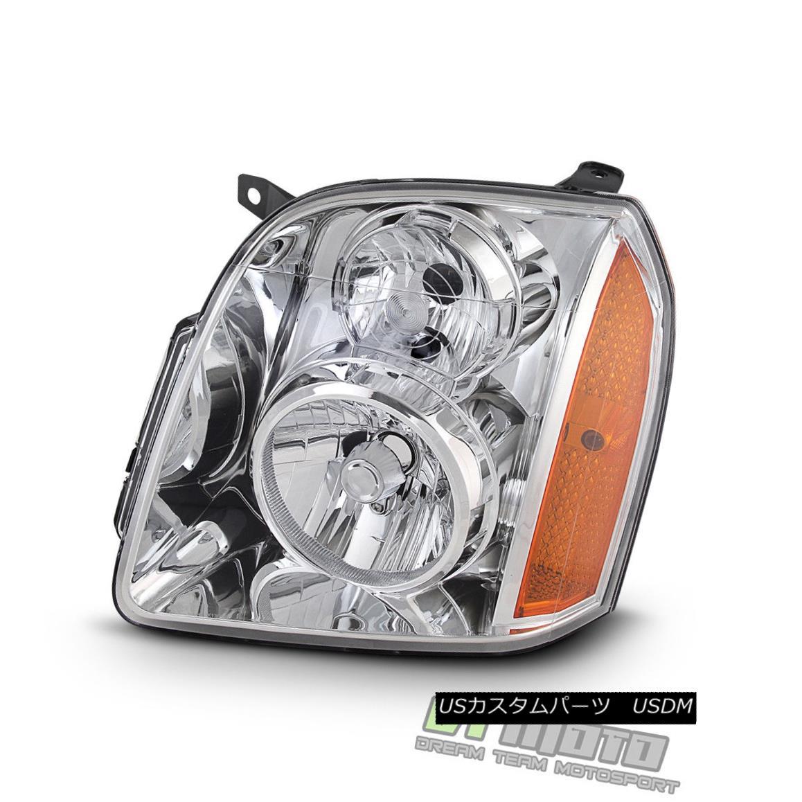ヘッドライト 2007-2014 GMC Yukon XL 1500 2500 Headlight Headlamp Replacement Left Driver Side 2007-2014 GMC Yukon XL 1500 2500ヘッドライトヘッドライト交換用左ドライバ側