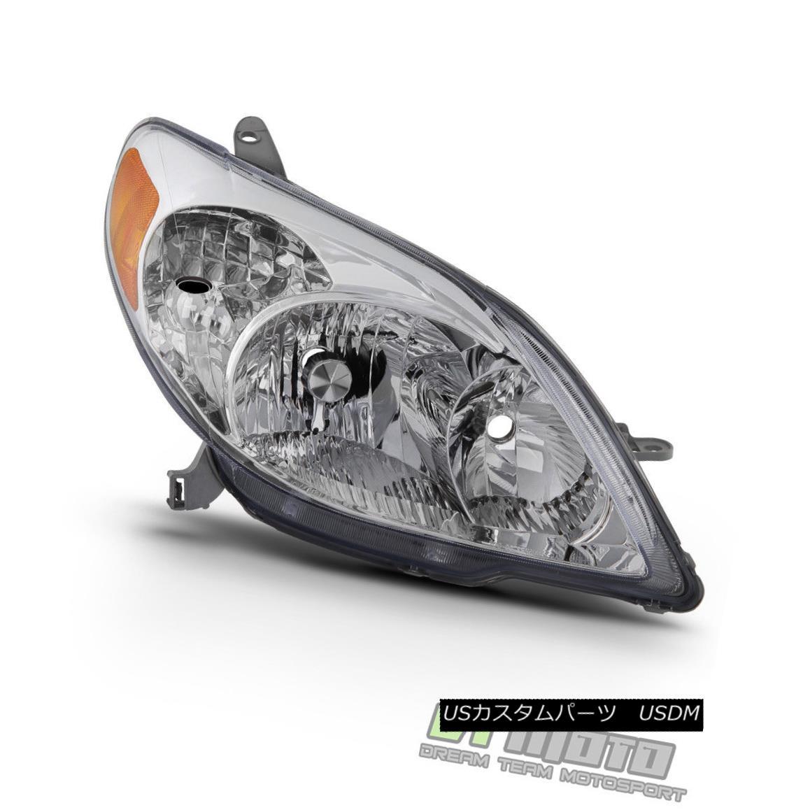 ヘッドライト 2003-2008 Toyota Matrix Headlight Headlamp Aftermarket Lamp 03-08 Passenger Side 2003-2008トヨタマトリックスヘッドライトヘッドランプアフターマーケットランプ03-08乗客側