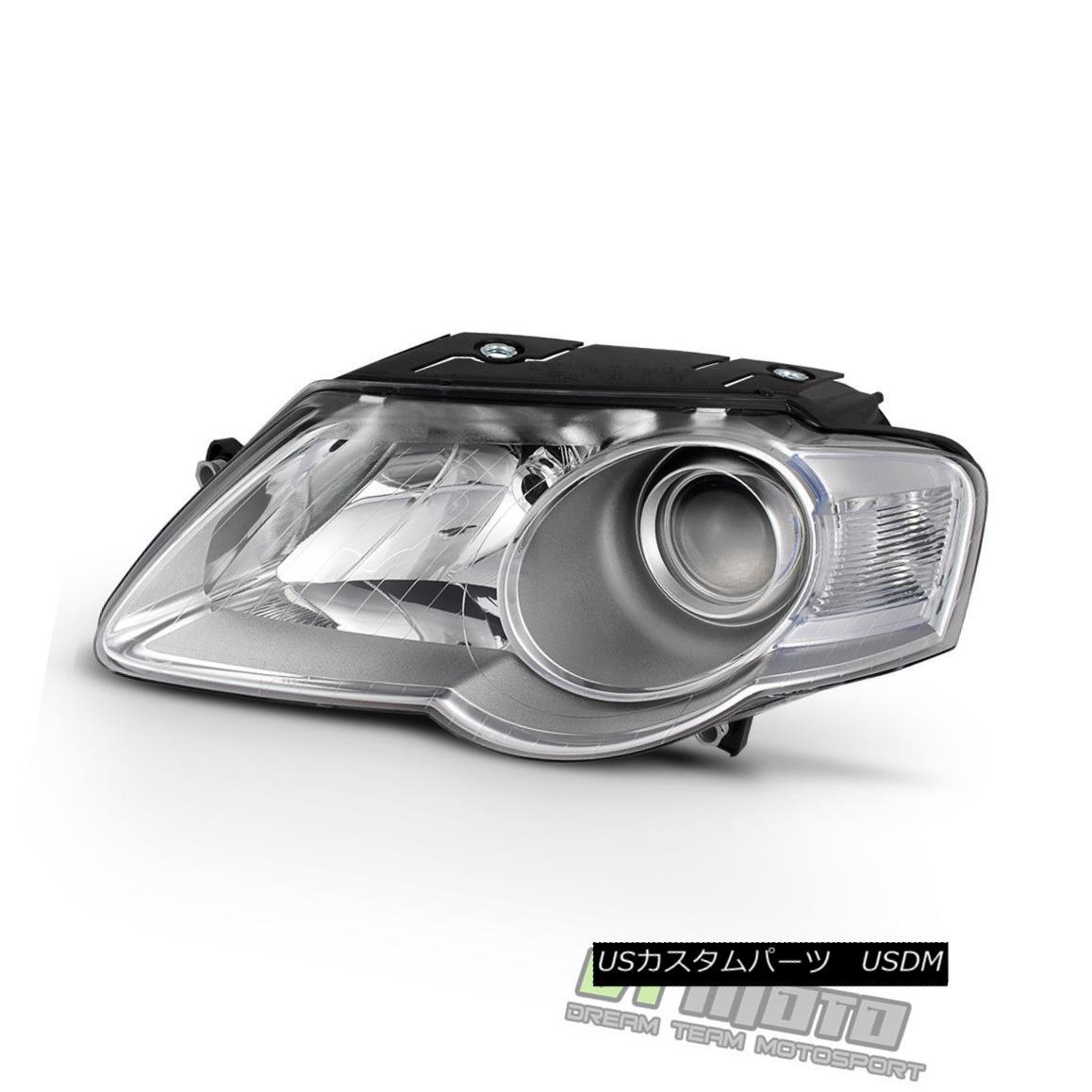 ヘッドライト 2006-2010 Volkwagen Passat Headlight Headlamp Replacement 06-10 Left Driver Side 2006-2010フォルクスワーゲンパサートヘッドライトヘッドライト交換06-10左ドライバーサイド