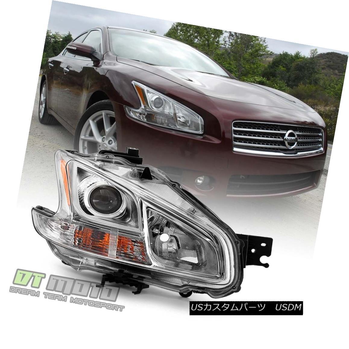 ヘッドライト For 2009-2014 Maxima Halogen Model Headlight Headlamp 09-14 Right Passenger Side 2009-2014 Maximaハロゲンヘッドライトヘッドランプ09-14右乗客側