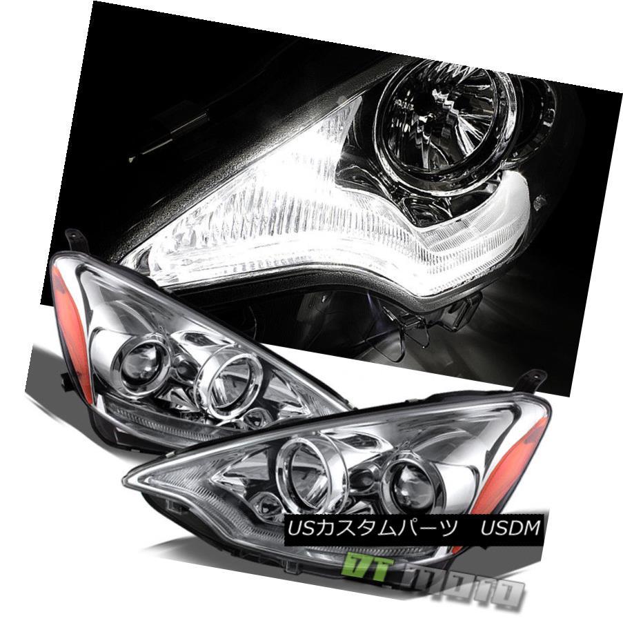 ヘッドライト 2012-2014 Toyota Prius C DRL LED Projector Daytime Running Headlights 12 13 14 2012-2014トヨタプリウスC DRL LEDプロジェクターデイタイムランニングヘッドライト12 13 14