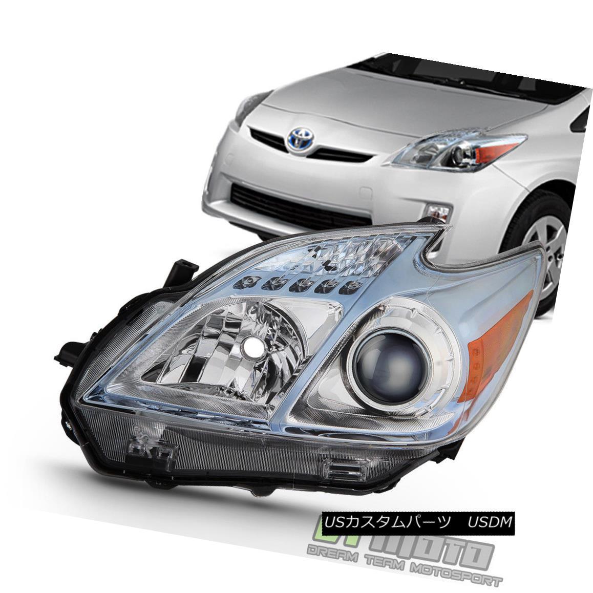 ヘッドライト 2010-2011 Toyota Prius Headlight Headlamp Replacement w/Halogen Left Driver Side 2010-2011トヨタプリウスヘッドライトヘッドライト交換、ハロゲン左ドライバーサイド