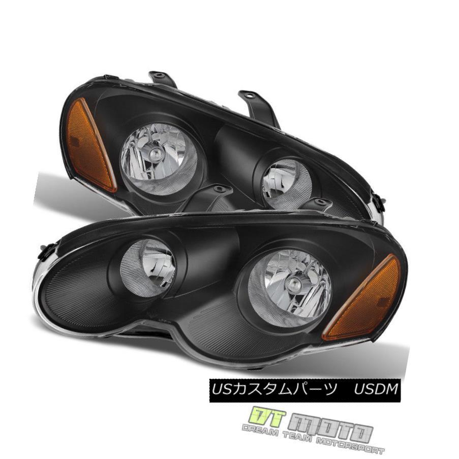 ヘッドライト Black 2003-2005 Chrysler Sebring Coupe Headlights Headlamps Left+Right 03 04 05 ブラック2003-2005クライスラーセブリングクーペヘッドライトヘッドランプ左+右03 04 05