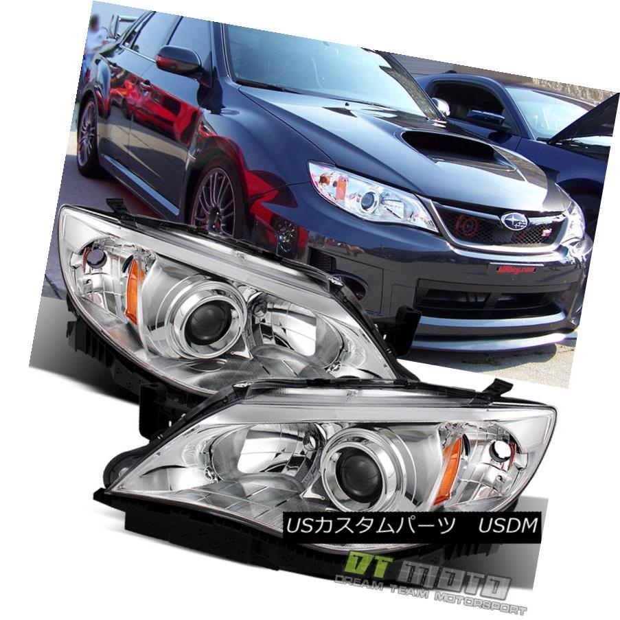 ヘッドライト 2008-2011 Subaru Impreza WRX STi Outback Sport Headlights Lamps 08-11 Left+Right 2008?2011年スバルインプレッサWRX STiアウトバックスポーツヘッドライトランプ08-11左+右