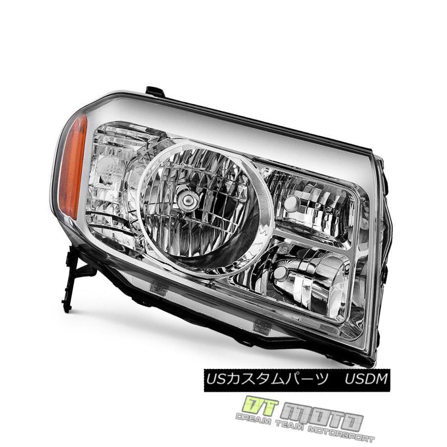 ヘッドライト For 2009 2010 2011 Honda Pilot Headlight Headlamp Replacement Right Passenger 2009年の2010年のホンダパイロットヘッドライトヘッドライト交換右乗客