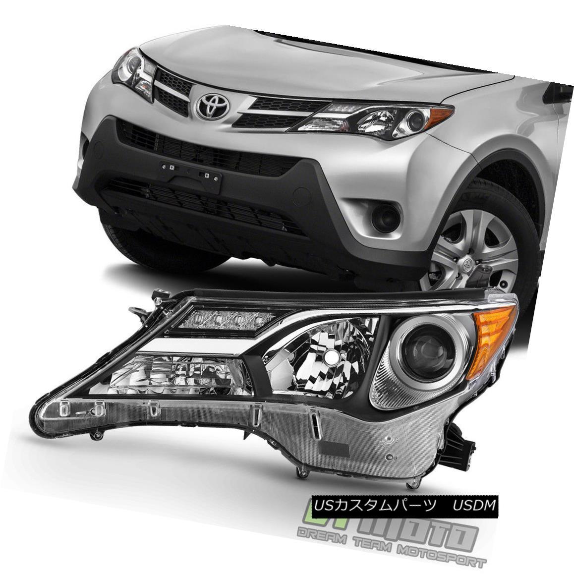 ヘッドライト 2013 2014 2015 Toyota RAV4 RAV-4 Headlight Headlamp Replacment Left Driver Side 2013年2014年2015年トヨタRAV4 RAV-4ヘッドライトヘッドランプ代替左ドライバ側