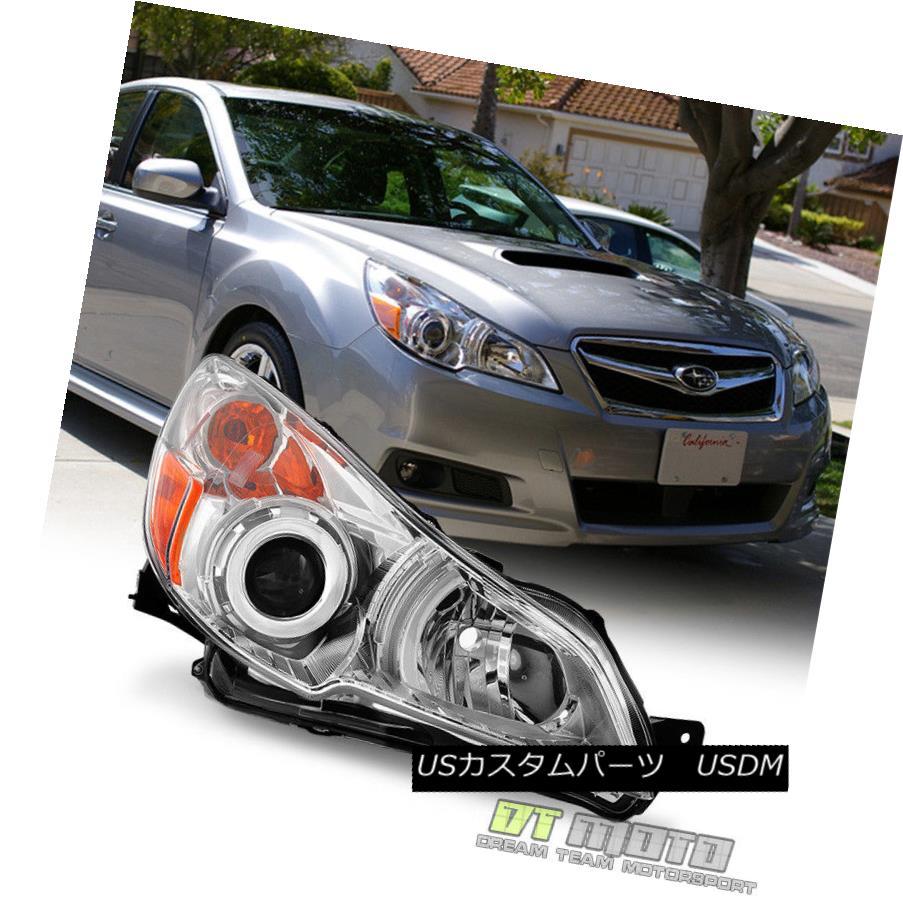ヘッドライト 2010 2011 2012 Subaru Legacy/Outback Replacement Headlight Right Passenger Side 2010年2011年2012スバルレガシー/アウトバック代替ヘッドライト右乗客側