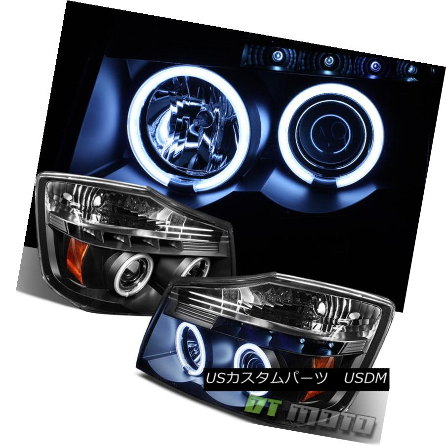 Left Driver Side LH Fits 2004-2007 Nissan Armada Titan Headlight Headlamp
